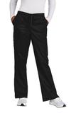 WonderWink Women's Tall WorkFlex Flare Leg Cargo Pant Black Thumbnail