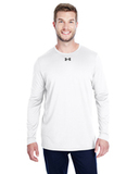 Under Armour Men's Long-Sleeve Locker Tee 2.0 White Thumbnail