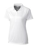 Women's Cutter & Buck DryTec Lacey Polo Shirt White Thumbnail