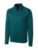 Cutter & Buck Men's Weathertec Ridge Pullover Midnight Green Thumbnail