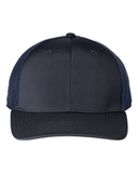Poly Trucker Cap Collegiate Navy with Navy Thumbnail