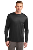Competitor Long Sleeve Tee Black Thumbnail