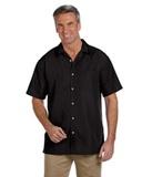 Men's Barbados Textured Camp Shirt Thumbnail