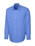 Men's Cutter & Buck Big & Tall L/S Epic Easy Care Spread Nailshead French Blue Thumbnail