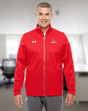 Under Armour Men's Ultimate Team Jacket Red Thumbnail