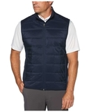 Ultrasonic Quilted Vest Peacoat Thumbnail