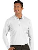 Antigua Tribute Long Sleeve Polo White Thumbnail