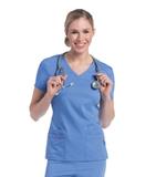 Julie Classic 4-Pocket Tunic Ceil Blue (BCP) Thumbnail