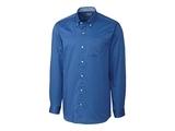 Clique by C & B Men's L/S Bergen Stain Resistant Twill Sea Blue Thumbnail