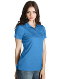 Women's Inspire Polo Columbia Blue Thumbnail