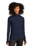 Sport-Tek ® Ladies Sport-Wick ® Flex Fleece Full-Zip True Navy Thumbnail
