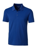Cutter & Buck Men's Forge Polo Tailored Fit Tour Blue Thumbnail