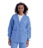 Women's Cardigan Warm-up Ceil Blue (BCP) Thumbnail