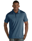 Antigua Quest Polo Shirt Navy with White Thumbnail