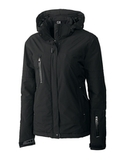 Women's Cutter & Buck WeatherTec Sanders Jacket Black Thumbnail