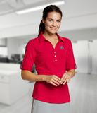 Women's E/S Thrive Polo Red Thumbnail