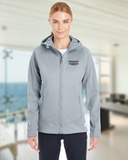 Women's Under Armour Coldgear Infrared Dobson Softshell Jacket True Gray Heather Thumbnail