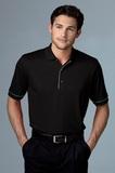 Greg Norman Play Dry Protek Micro Lux Polo Shirt Black Thumbnail