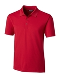 Cutter & Buck Men's Forge Polo Tailored Fit Cardinal Red Thumbnail