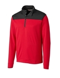 CBUK Skyridge Pullover Cardinal Red with Black Thumbnail