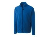 Clique by C & B Men's Summit Full Zip Microfleece Jacket Royal Blue Thumbnail