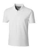 Cutter & Buck Men's Forge Polo Tailored Fit White Thumbnail