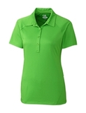 Women's Cutter & Buck DryTec Lacey Polo Shirt Cilantro Thumbnail