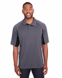 Men's Avenger Short-sleeve Polo Graphite with Black Thumbnail