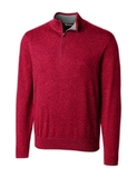 Cutter & Buck Men's Lakemont Half Zip Cardinal Red Thumbnail