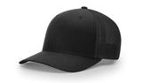 Richardson Trucker R-Flex Cap Black Thumbnail
