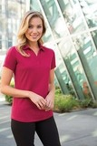 Women's Diamond Jacquard Polo Thumbnail