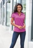 Women's Trace Heather Polo Shirt Thumbnail