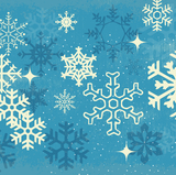 Holiday Themed Gaiter Face Covering Snowflake Thumbnail