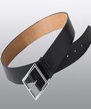 Leather Security Belt Black Thumbnail
