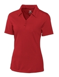 Women's Cutter & Buck DryTec Extended Sizes Championship Polo Shirt Red Thumbnail