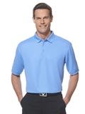 Callaway Ottoman Knit Polo Shirt Provence Blue Thumbnail