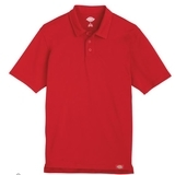 Industrial Performance Polo Shirt Red Thumbnail