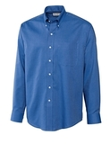 Men's Cutter & Buck L/S Epic Easy Care Nailshead French Blue Thumbnail