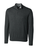 Cutter & Buck Men's Lakemont Half Zip Charcoal Heather Thumbnail