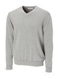 Men's CB Big & Tall Broadview V-neck Sweater Athletic Grey Heather Thumbnail