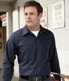Long Sleeve Industrial Work Shirt Thumbnail