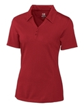 Women's Cutter & Buck DryTec Extended Sizes Championship Polo Shirt Cardinal Red Thumbnail
