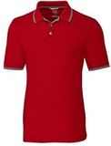 Advantage Tipped Polo Cardinal Red Thumbnail