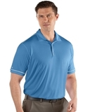 Antigua Men's Salute Polo Columbia Blue with White Thumbnail