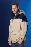 Men's 3-in-1 Two Tone Parka With Reflective Piping Thumbnail
