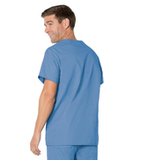 Men's 5-Pocket Scrub Top Ceil Blue (BCP) Thumbnail