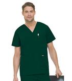 Men's 5-Pocket Scrub Top HUNTER GREEN (GHP) Thumbnail