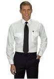 Men's Aviator Long Sleeve Shirt White Thumbnail