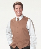 Men's Bistro Vest Black Thumbnail