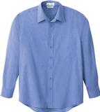 Men's Dress Shirt Deep Blue Thumbnail